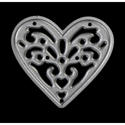 Printable Heaven die - Small Filigree Heart (1pc)