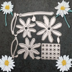 Printable Heaven die - Daisy Set (7pcs)