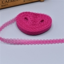 Lace - Hot Pink (10 yards)