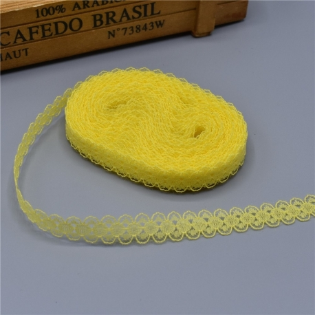 Lace - Yellow (10 yards)