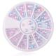 Mermaid Half-pearl Wheel - Pink/blue (20g)