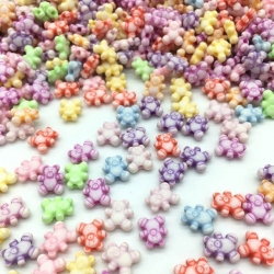 Pastel Teddy Beads (100pcs)