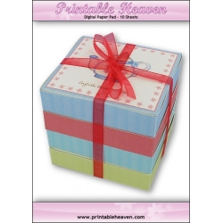 Download - Digital Paper Pad - Teabag Gift Boxes