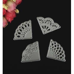 Printable Heaven dies - Ornate Corners (4pcs)