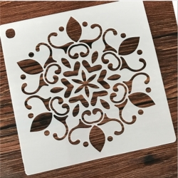 Medium Reusable Stencil - Large Mandala (1pc)