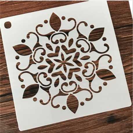 Reusable Stencil - Large Mandala (1pc)