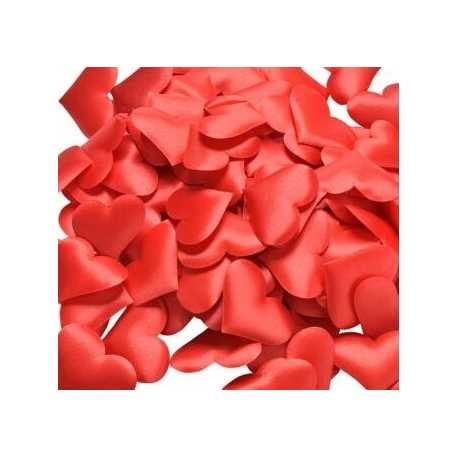Padded Hearts - Red (30pcs)