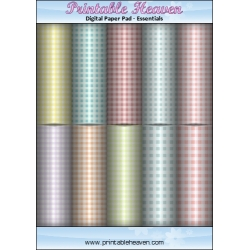 Download - Digital Paper Pad - Baby Ginghams