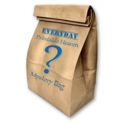 Printable Heaven Mystery Bag