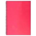 A4 Hardback Notebook - Pink (U-83199)
