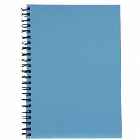 A4 Hardback Notebook - Pale Blue (U-83199)