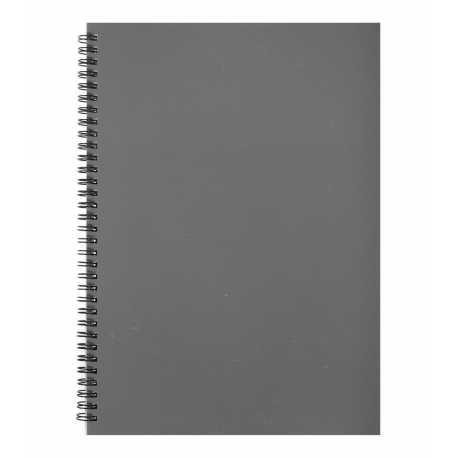 A4 Hardback Notebook - Grey (U-83199)