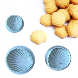 Plunger Cutter set - Shells (3pcs)