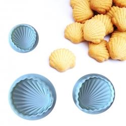 Plunger Cutter set - Shells (3pcs)