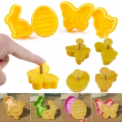Plunger Cutter set - Easter (4pcs)