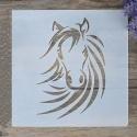 Medium Reusable Stencil - Horse (1pc)