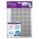 A5 Clear Stamp Set (1pc) - Moroccan Lattice (DCE 907140)