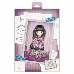A4 Decoupage Pack - Gorjuss, Sugar & Spice (GOR 169126)