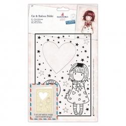 Cut & Emboss Folder - Gorjuss, Little Heart (GOR 503014)