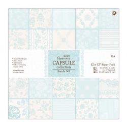 12 x 12 Paper Pack (32pk) - Eau De Nil (PMA 160226)