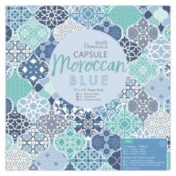 12 x 12 Paper Pack (32pk) - Moroccan Blue (PMA 160261)