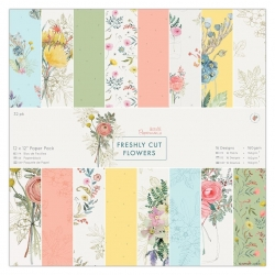 12 x 12 Paper Pack (32pk) - Freshly Cut Flowers (PMA 160329)