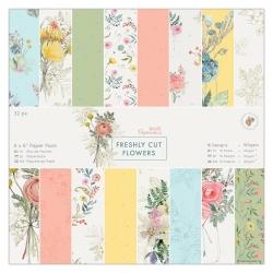 6 x 6 Paper Pack (32pk) - Freshly Cut Flowers (PMA 160330)