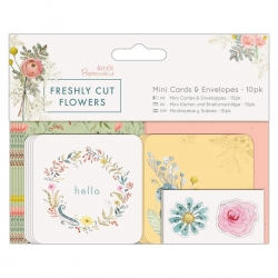Mini Cards & Envelopes (10pk) - Freshly Cut Flowers (PMA 165125)