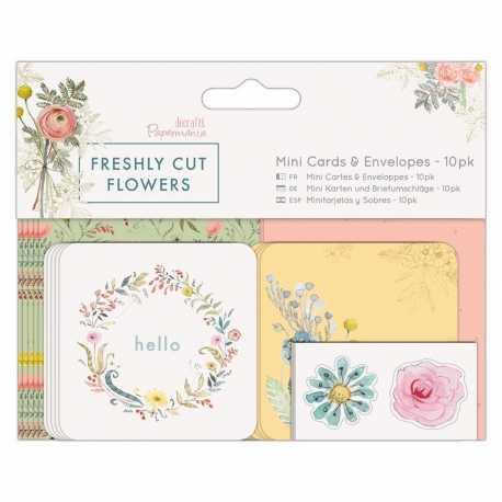 Mini Cards & Envelopes (10pk) - Freshly Cut Flowers (PMA 165125)