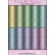 Download - Digital Paper Pad - Rainforest Flowers - Pastels