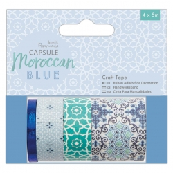 Craft Tape (4 x 5m) - Moroccan Blue (PMA 462225)