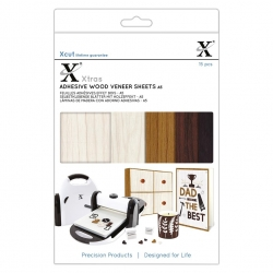 Xcut Xtras A5 Adhesive Wood Effect Sheets 15pcs (XCU 174411)