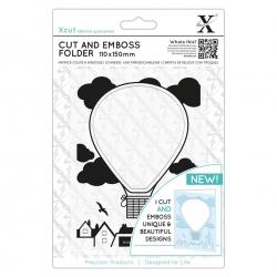 Cut & Emboss Folder - Hot Air Balloon (XCU 503817)