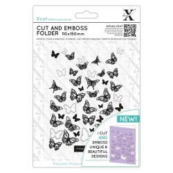 Cut & Emboss Folder - Butterflies (XCU 503824)