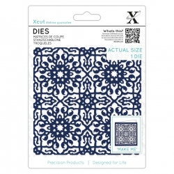 Die (1pc) - Large Moroccan Tile (XCU 504091)