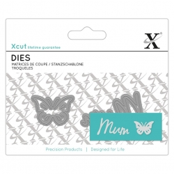 Mini Sentiment Die (2pcs) - Mum (XCU 504099)