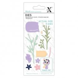 Small Dies (11pcs) - Flower Jar (XCU 504118)