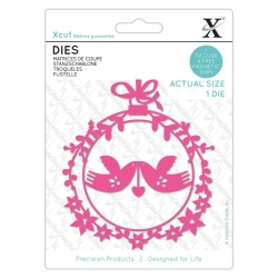Dies (1pc) - Festive Love Birds (XCU 504140)