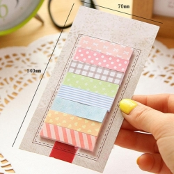 Sticky Notes, Patterned (160pcs)