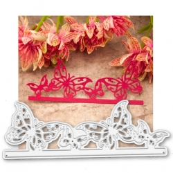 Printable Heaven die - Butterfly Border (1pc)