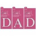 Adhesive Gem Letters DAD (PMA 356024/356021)