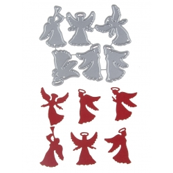 Printable Heaven dies - Angels Set (6pcs)
