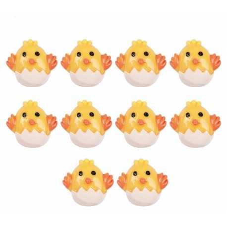 Resin Chicks (10pcs)