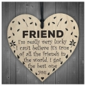 Wooden sign - Friend (1pc)