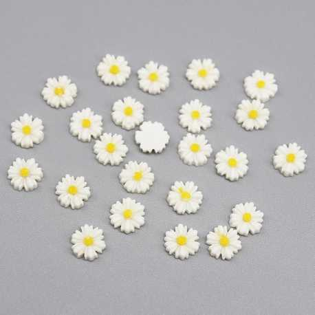 Resin Daisies (50pcs)