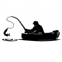 Printable Heaven die - Gone Fishing (1pc)