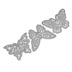 Printable Heaven dies - Filigree Butterflies (3pcs)