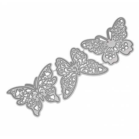 Printable Heaven dies - Filigree Butterflies (3pcs)