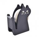 Wooden Cat Tape Dispenser - Black