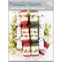 Download - Digital Paper Pad - Christmas Crackers - Santa's Sleigh